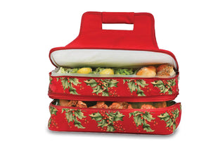 Entertainer Hot & Cold Food Carrier - Holly
