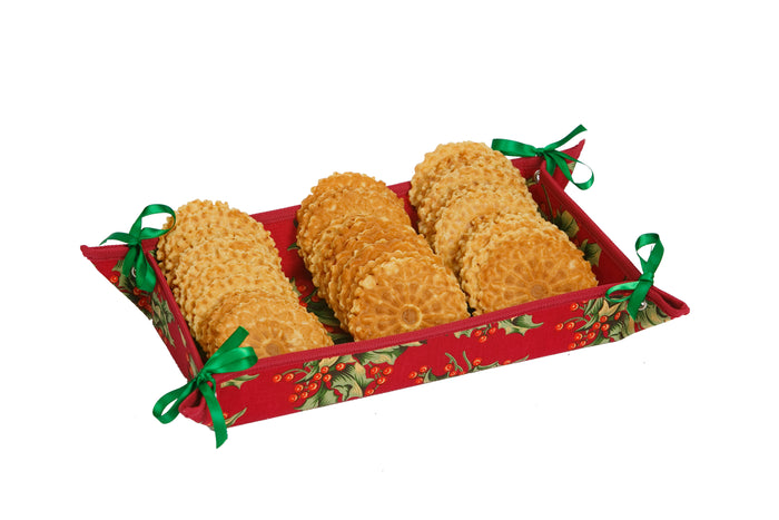 Hostess Appetizer Tray - Holly