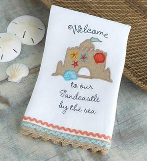 Sandcastle Tea Towel
