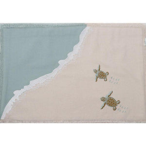 Baby Sea Turtle Embroidered Placemat