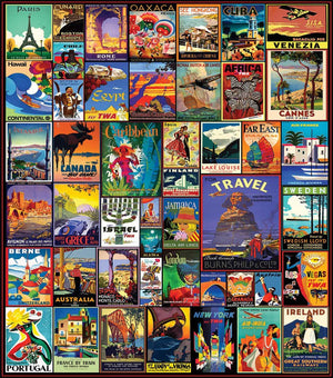 Puzzle-Travel Posters