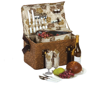 Woodstock 2 Person Picnic Basket
