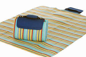 Small Mega Mat Blue Berry Stripe