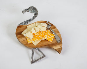 Flamingo Tropical Cheese Board