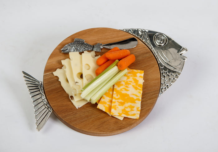 Fish Tropical Cheese Board
