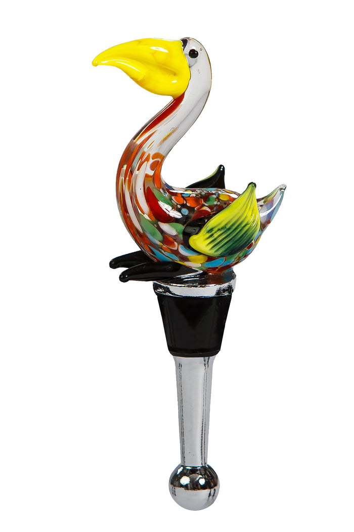 Pelican Bottle Stopper