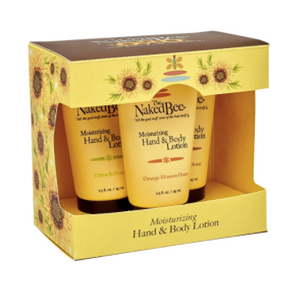 The Naked Bee Hand & Lotion Trio