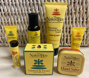 Naked Bee 7 Item Gift Set