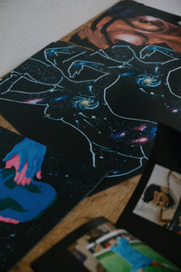 """I have galaxies growing inside me.."" – Print"