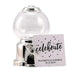 SILVER GUMBALL MACHINE PARTY FAVOUR -SILVER - AyaZay Wedding Shoppe