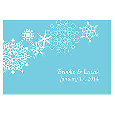 WINTER FINERY LARGE RECTANGULAR TAG - AyaZay Wedding Shoppe