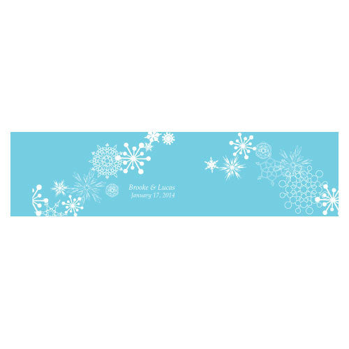 WINTER FINERY CUBE FAVOUR BOX WRAP - AyaZay Wedding Shoppe
