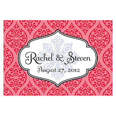 MOROCCAN LARGE RECTANGULAR TAG - AyaZay Wedding Shoppe