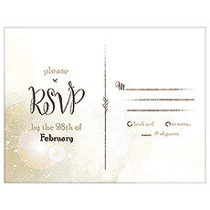 FEATHER WHIMSY RSVP - AyaZay Wedding Shoppe