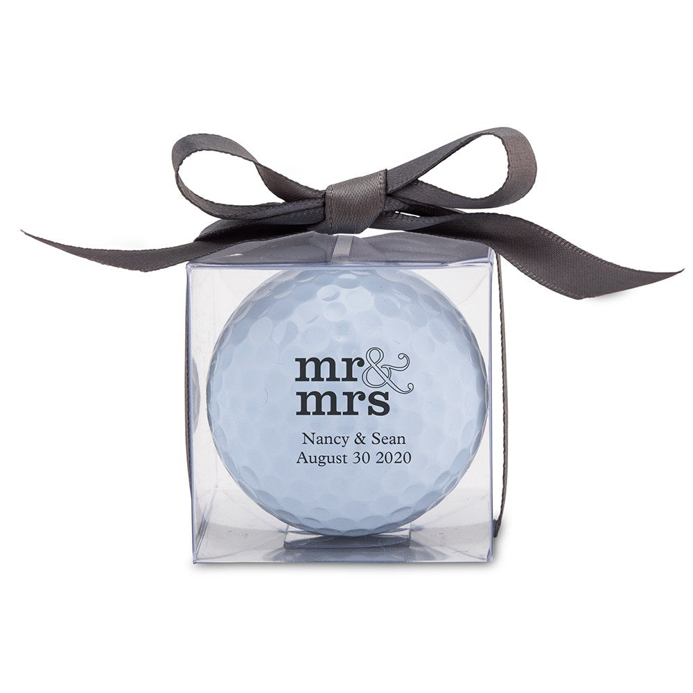 PERSONALIZED GOLF BALL FAVOUR