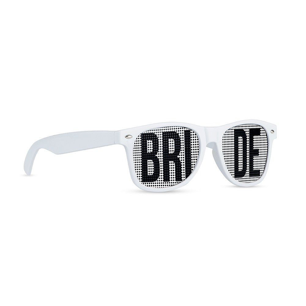 WEDDING PARTY PINHOLE SUNGLASSES - BRIDE