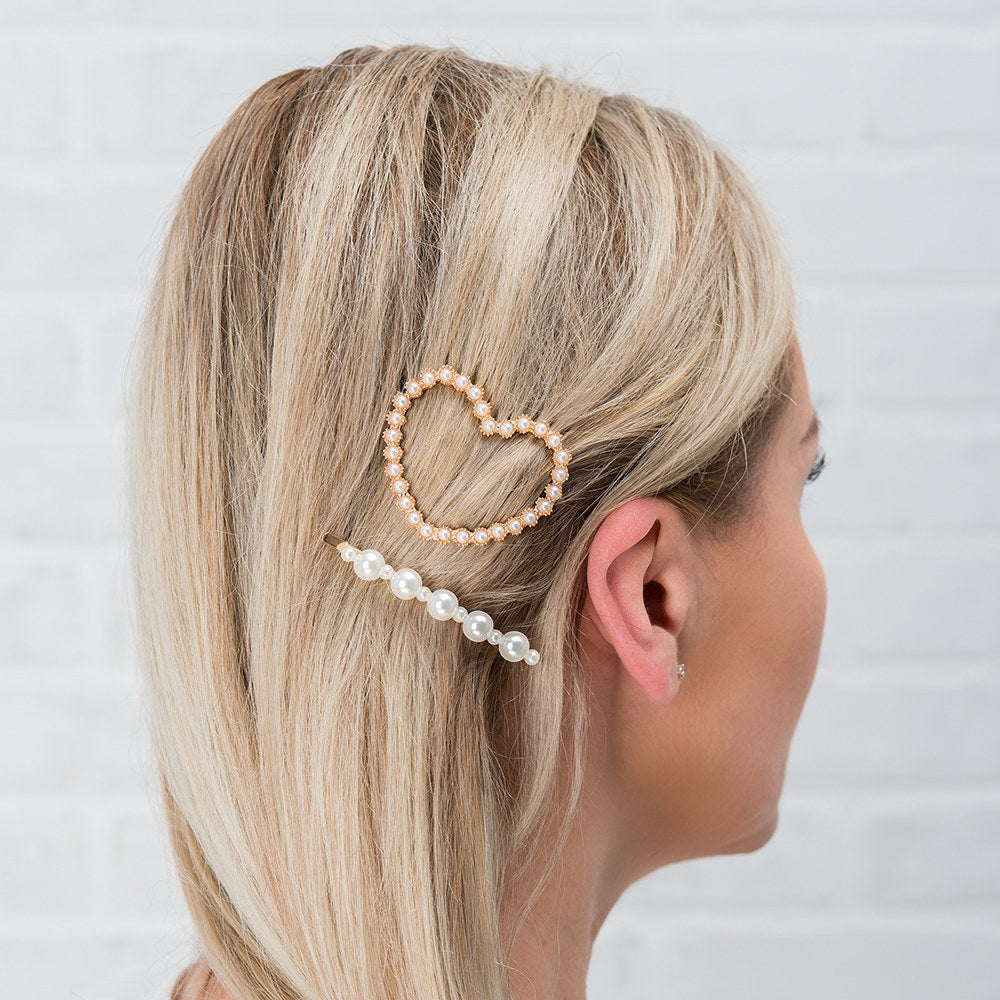 CUSTOM BRIDAL PARTY HAIR CLIPS - TO HAVE AND TO HOLD