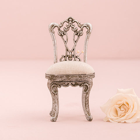 MINIATURE CHAIR JEWELLERY HOLDER - AyaZay Wedding Shoppe