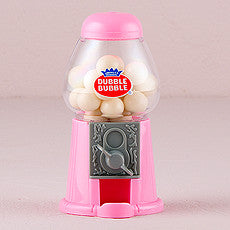 MINI CLASSIC PINK GUMBALL DISPENSER - AyaZay Wedding Shoppe