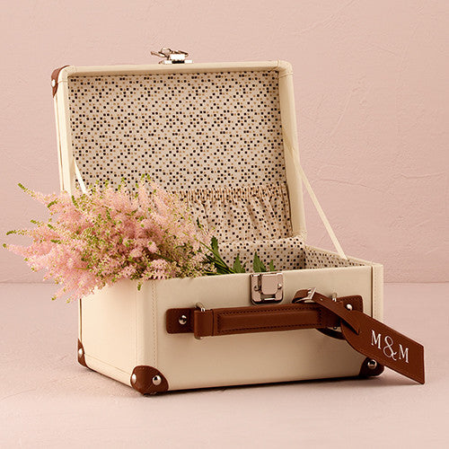 MINI SUITCASE WISHING WELL - AyaZay Wedding Shoppe