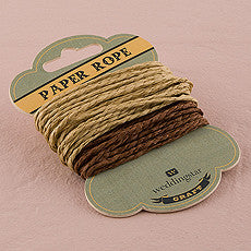 CRAFT PAPER TWINE - AyaZay Wedding Shoppe