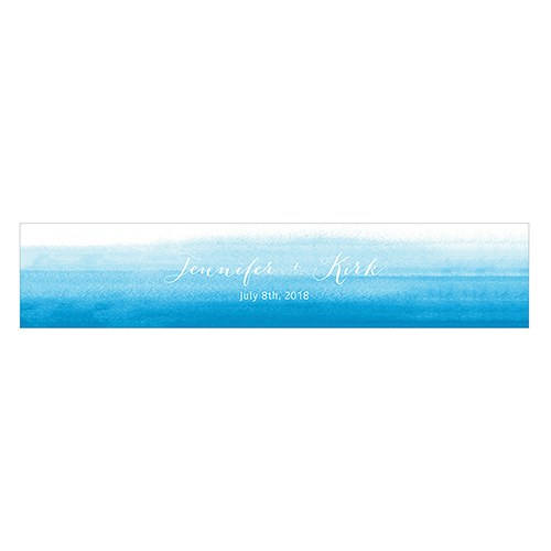 AQUEOUS WATER BOTTLE LABEL - AyaZay Wedding Shoppe