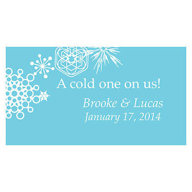 WINTER FINERY SMALL TICKET (120 /pkg) - AyaZay Wedding Shoppe