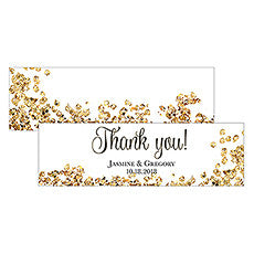 CELEBRATION SMALL RECTANGULAR TAG - AyaZay Wedding Shoppe