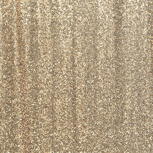 CUSTOM WEDDING PHOTO BACKDROP DECORATION - GOLD SEQUIN - AyaZay Wedding Shoppe