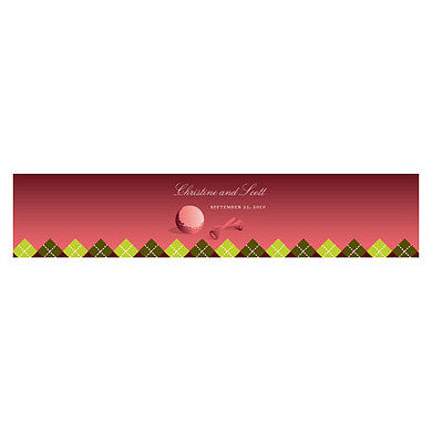 GOLF WATER BOTTLE LABEL - AyaZay Wedding Shoppe