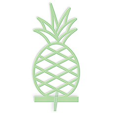 ACRYLIC PINEAPPLE - TABLETOP DECORATION IN DAIQUIRI GREEN - AyaZay Wedding Shoppe
