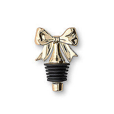 DAINTY GOLD BOW BOTTLE STOPPER (6/pkg) - AyaZay Wedding Shoppe