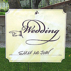 WEDDING DIRECTIONAL SIGNS - AyaZay Wedding Shoppe