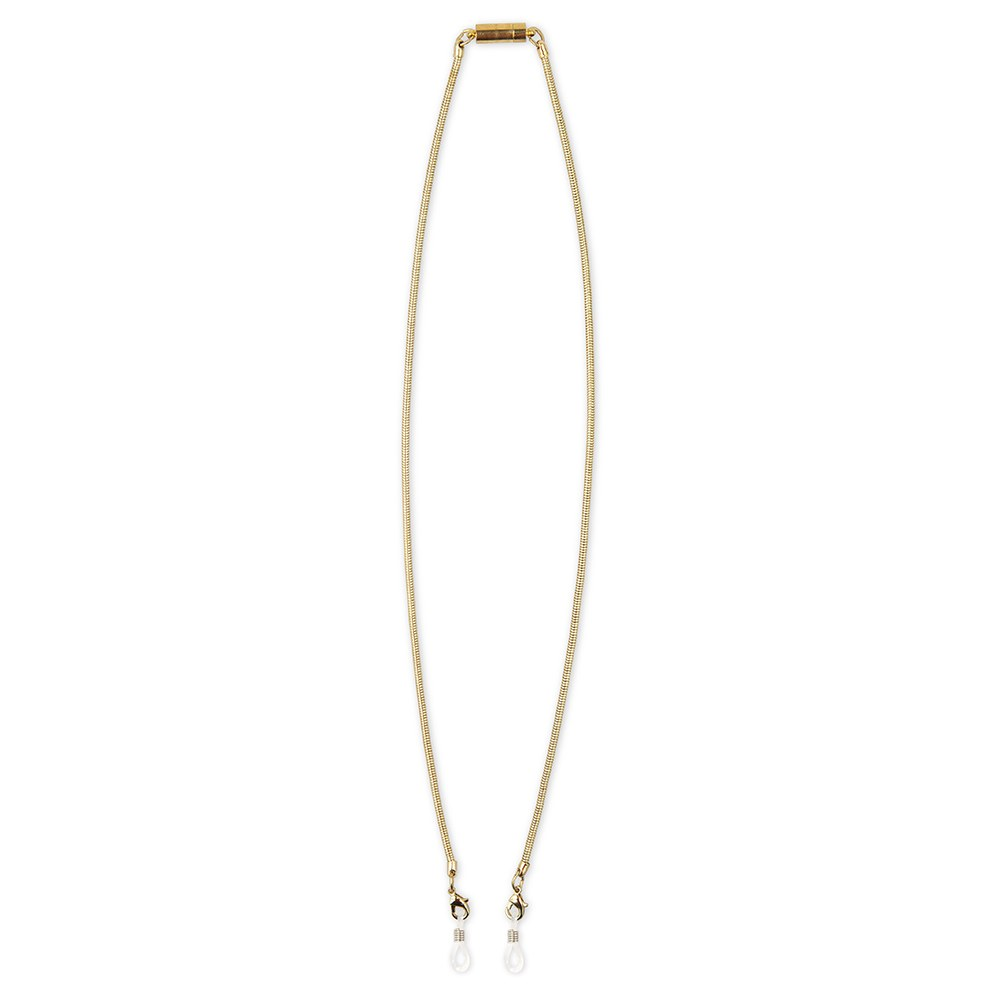 "23"" FACE MASK LANYARD WITH MAGNETIC SAFETY RELEASE - GOLD"