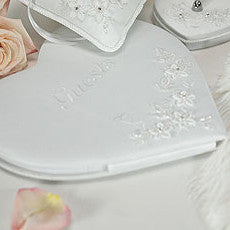 FLORAL FANTASY HEART SHAPED GUEST BOOK - AyaZay Wedding Shoppe