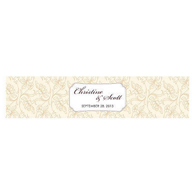 ECLECTIC PATTERNS WATER BOTTLE LABELS - AyaZay Wedding Shoppe