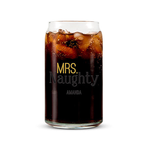 CAN SHAPED GLASS PERSONALIZED - MR. NICE PRINTING - AyaZay Wedding Shoppe