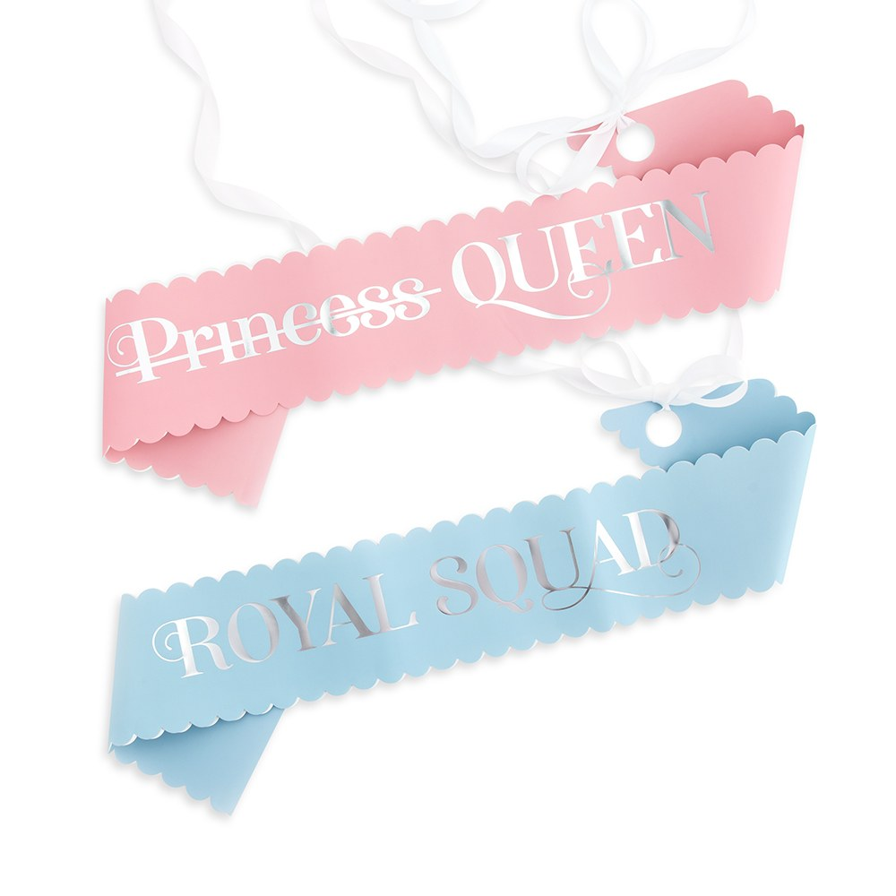 PAPER BACHELORETTE PARTY SASH - PARTY LIKE A PRINCESS