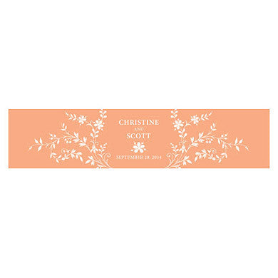 FORGET ME NOT WATER BOTTLE LABEL - AyaZay Wedding Shoppe