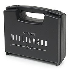 PERSONALIZED RING BRIEFCASE - SPECIAL AGENT RING BEARER - AyaZay Wedding Shoppe