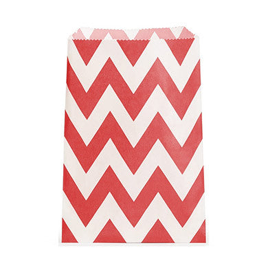 CHEVRON FAVOUR BAGS - Various colours - AyaZay Wedding Shoppe