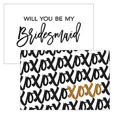 SPARKLE LARGE RECTANGULAR TAG - XOXO - AyaZay Wedding Shoppe