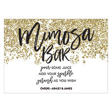 SPARKLE LARGE CARD TABLE SIGN - AyaZay Wedding Shoppe
