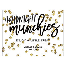 SPARKLE TABLE CARD (6/pkg) - AyaZay Wedding Shoppe