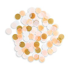 SPRING MIX JUMBO PARTY CONFETTI - PINK, BLUSH, GOLD - AyaZay Wedding Shoppe