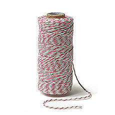 Striped Cotton Baker's Twine - AyaZay Wedding Shoppe