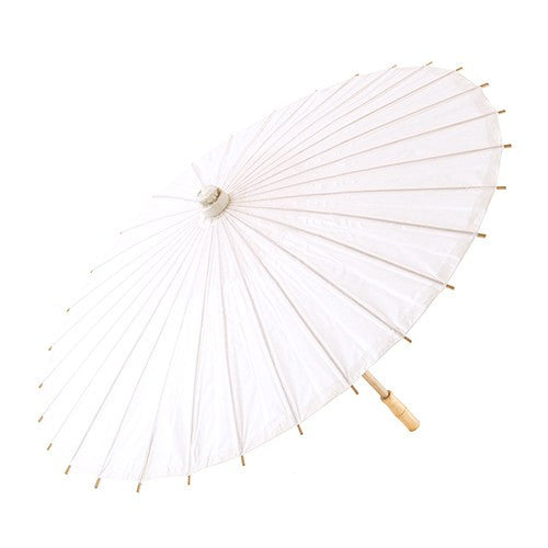 PAPER PARASOL WITH BAMBOO BONING (18 colours available) - AyaZay Wedding Shoppe