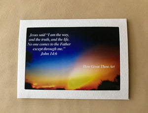 "Productions By Faith Greeting Cards Bundle - ""For God So Loved The World"""
