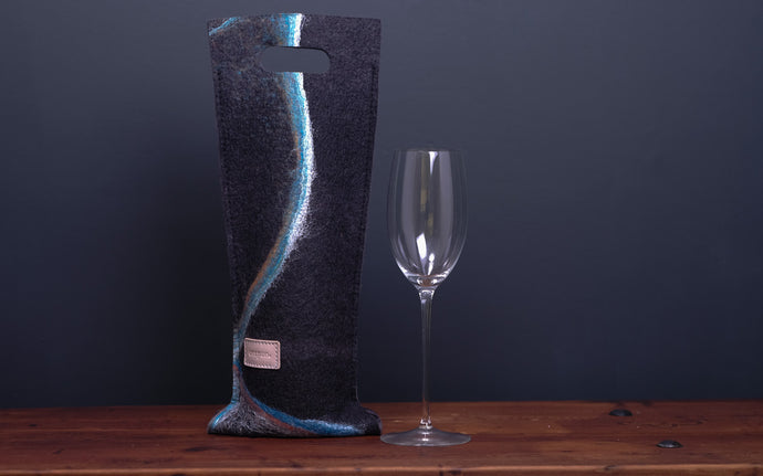 the kingfisher - wine wallet