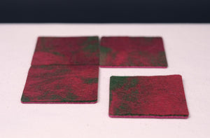poppy fields coasters